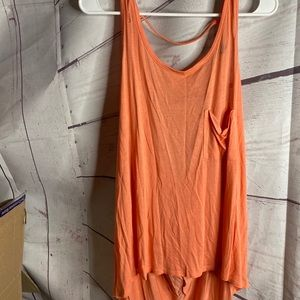 Forever 21 Hi Low Tank Top Sz M